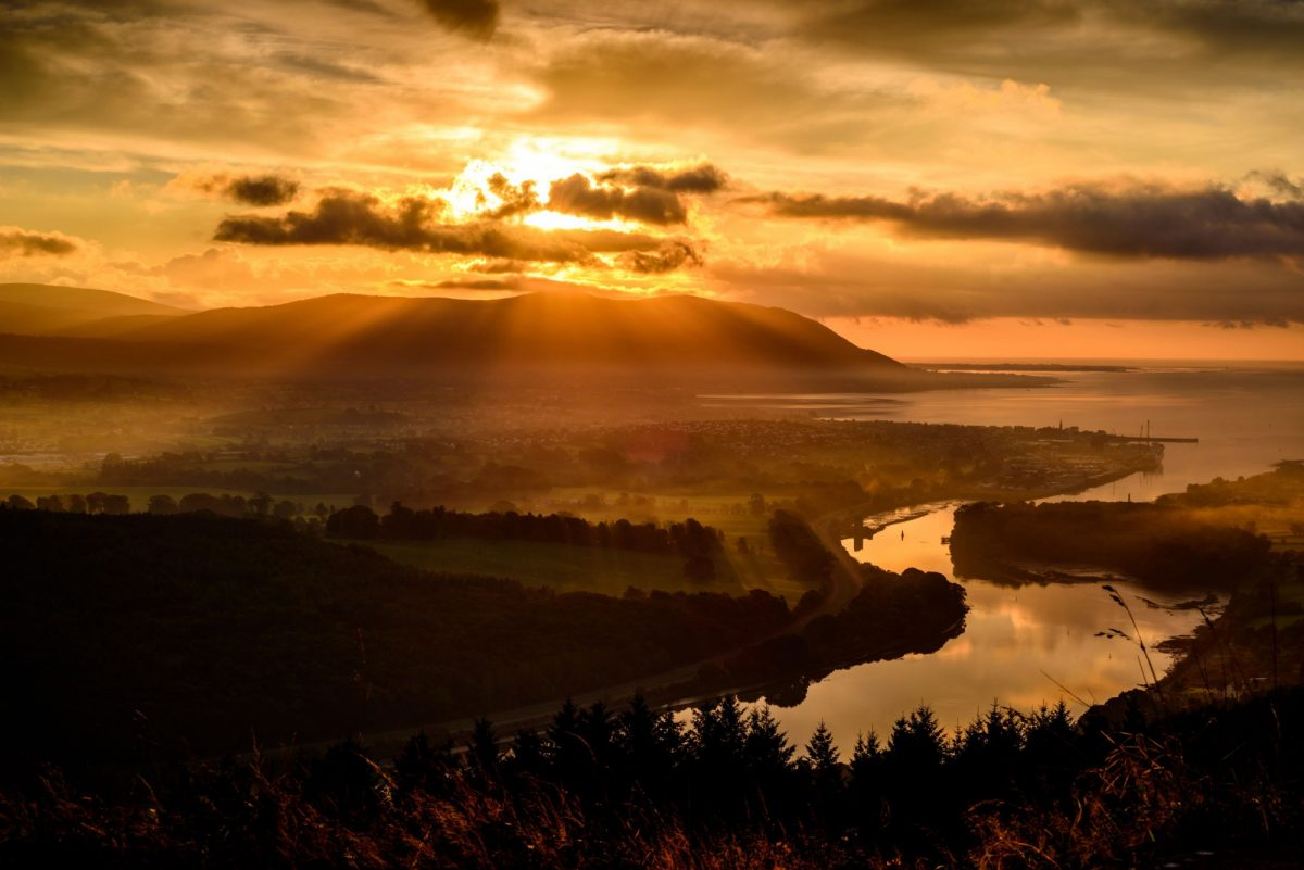 St Patrics Warrenpoint Mourne Mountains County Down Northern Ireland UK