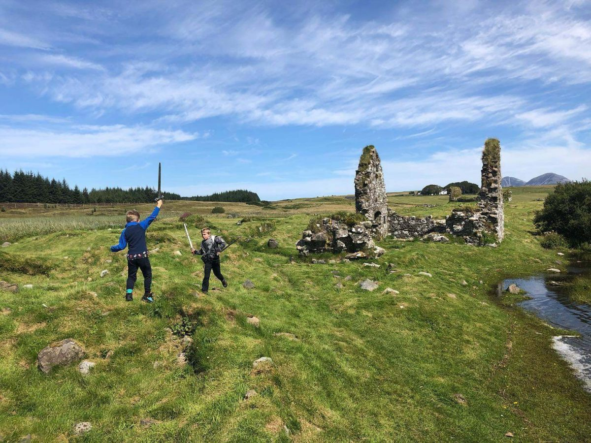 Steven Hunt scottish ancient sites