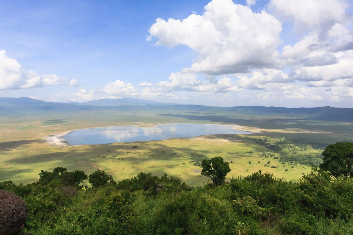 Tanzania View of Ngoro Ngoro crater