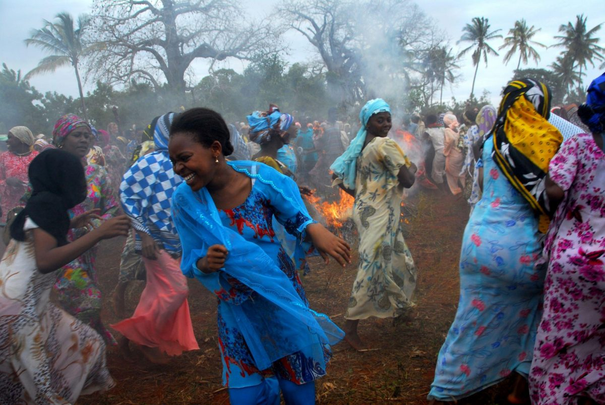 Tanzania Zanzibar festival in honor of the fishermen