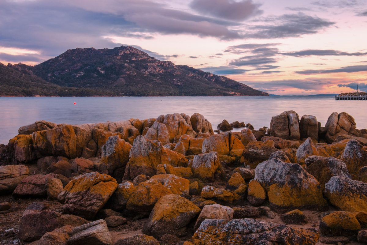 Tasmania Freycinet National Park Coles Bay