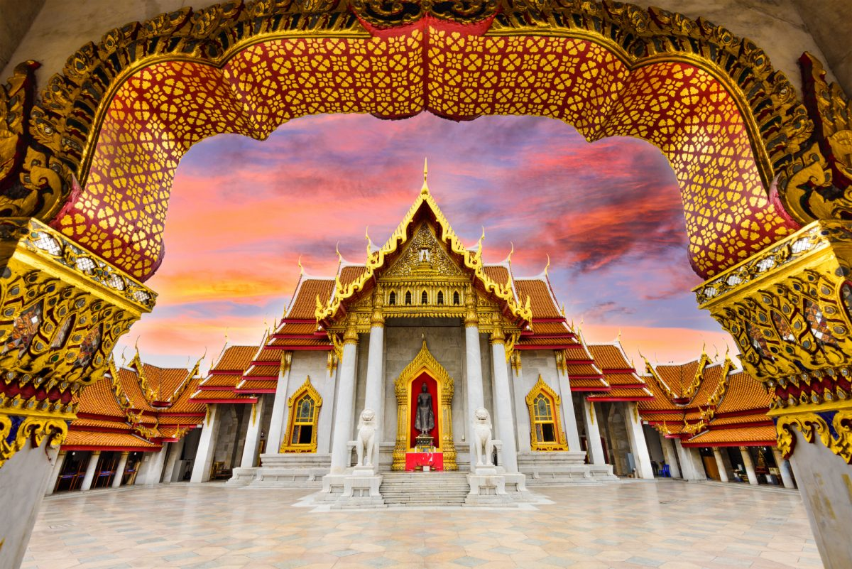 Thailand Bangkokmarbletemple