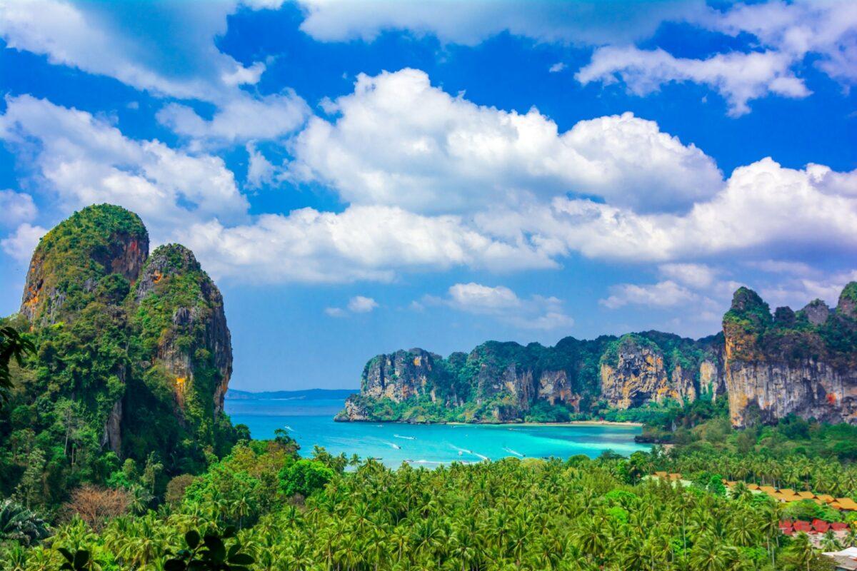 Thailand Krabi Railey beach