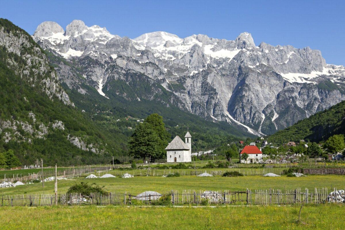 Thethi Valley Albania
