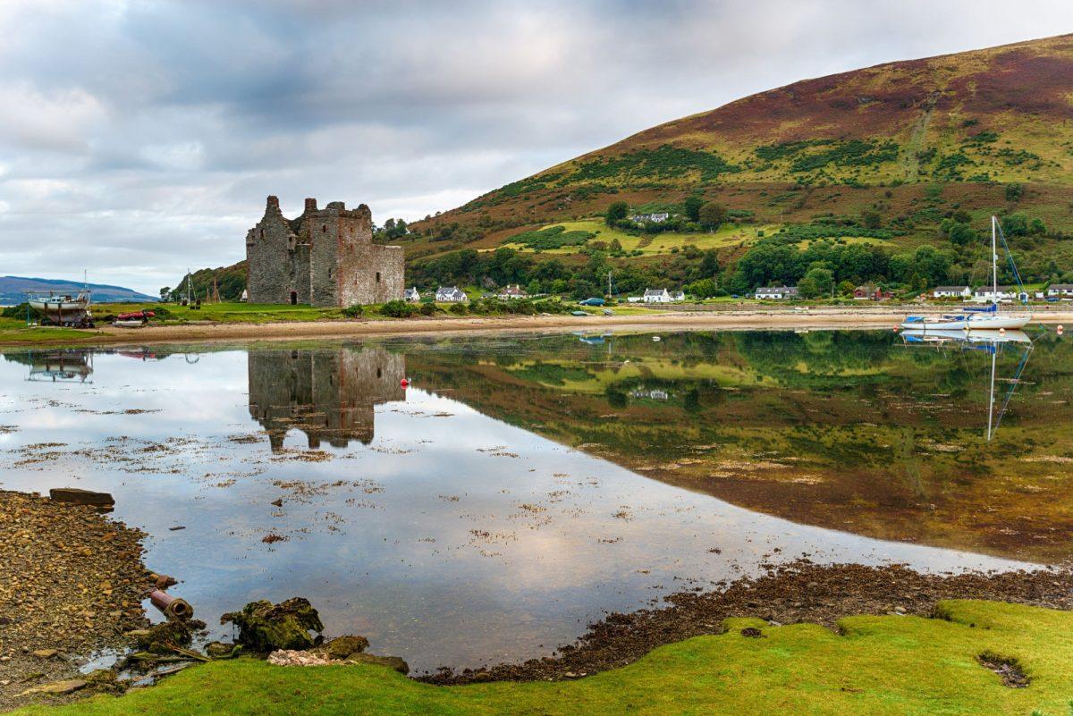 UK Lochranza on the Isle of Arran