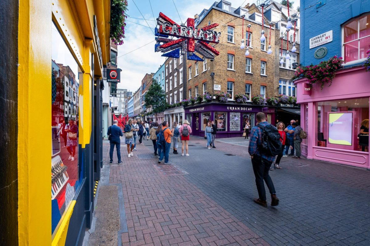 UK London carnaby street
