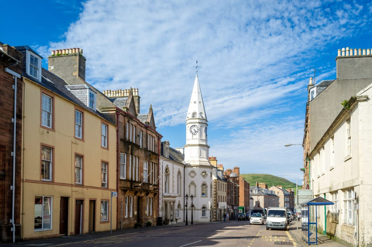 UK Scotland Campbeltown Kintyre