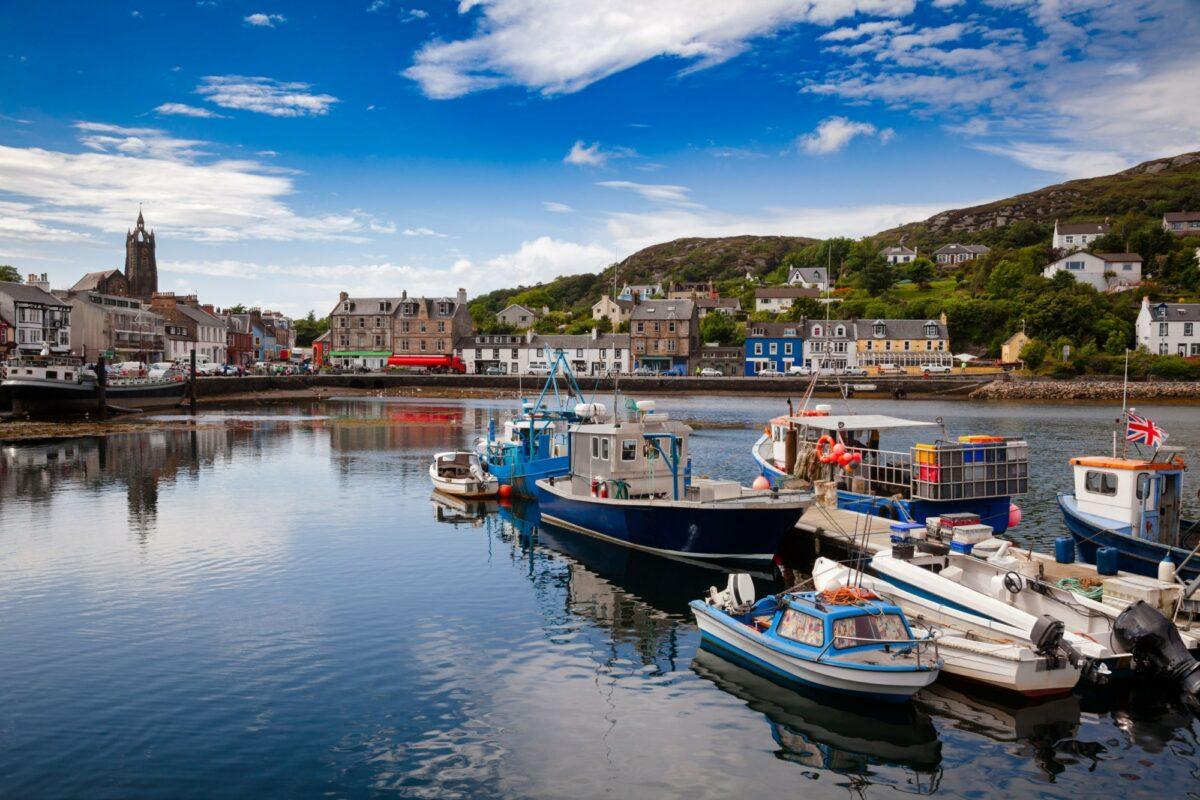 UK Scotland Tarbet Kintyre