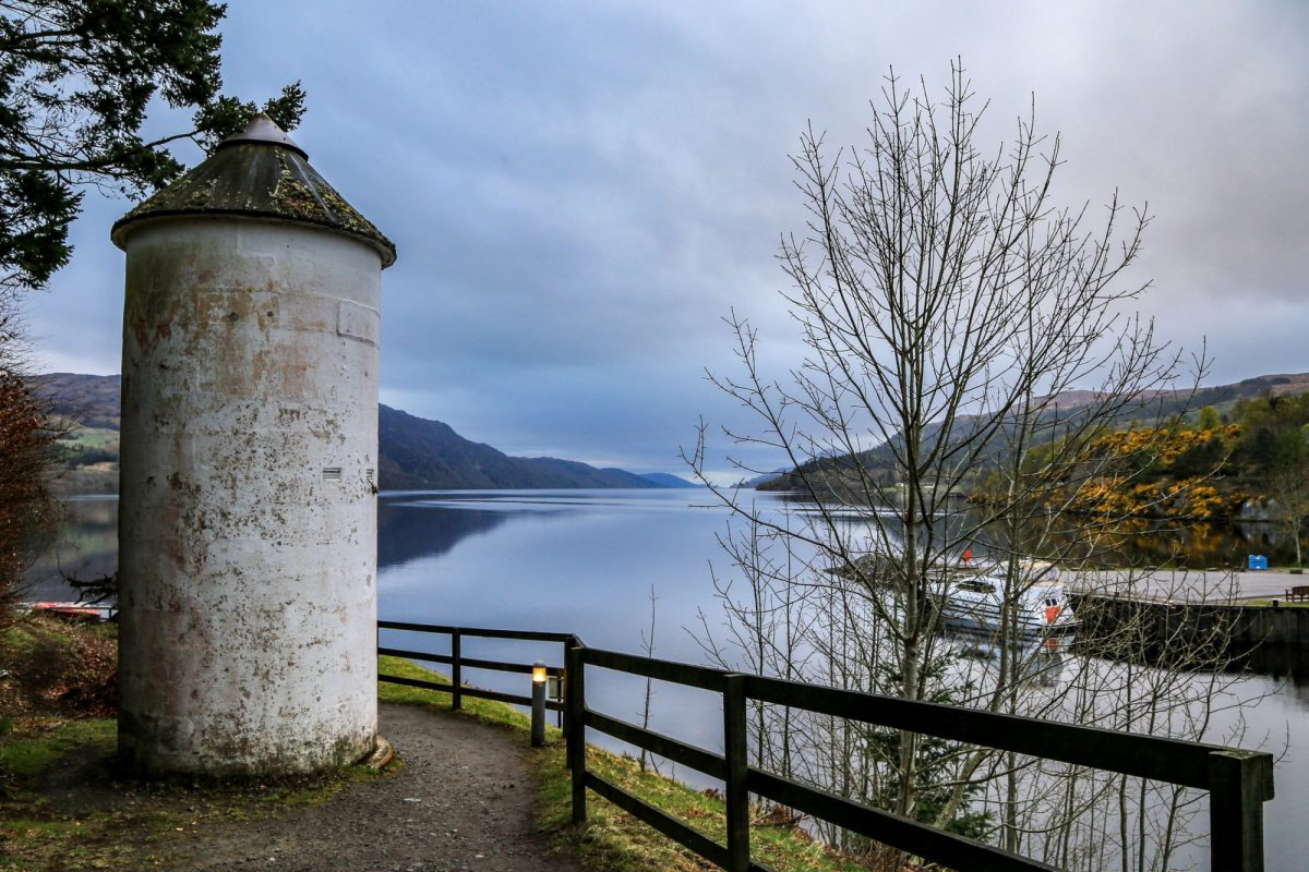 UK Scotland great glen way Fort Augustus loch ness