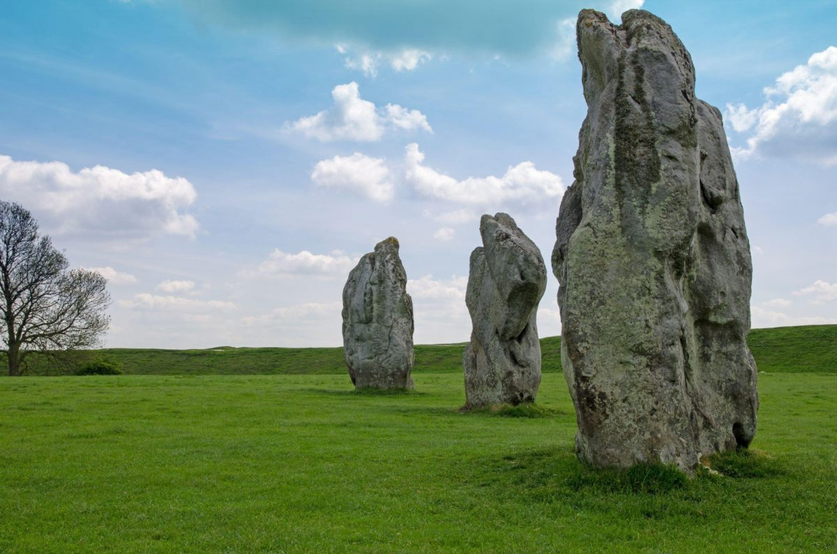 UK Wiltshire Avebury World Heritage Site