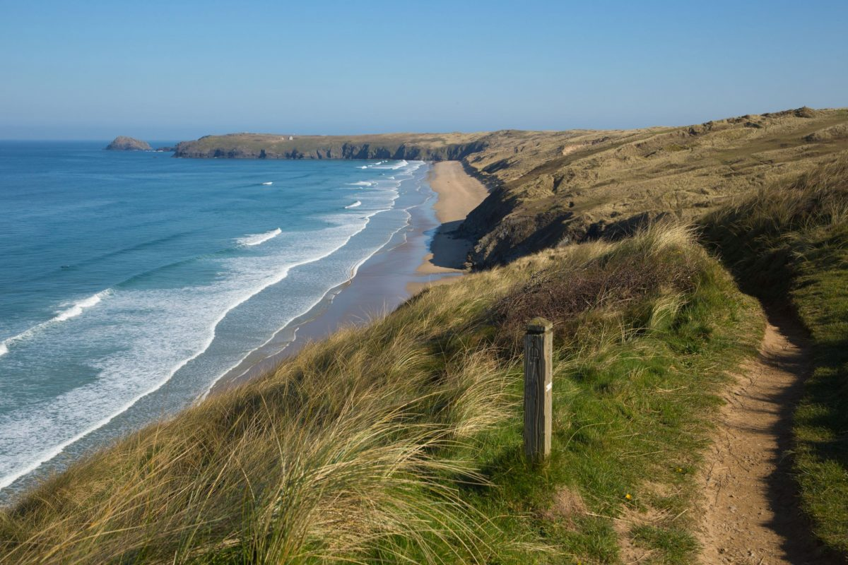 UK south west coast path