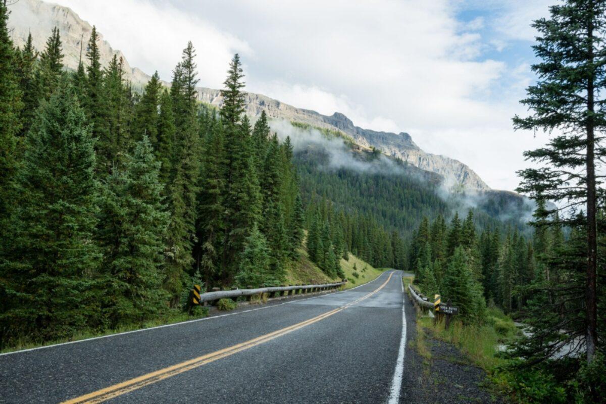 USA Montana 68 mile beartooth highway