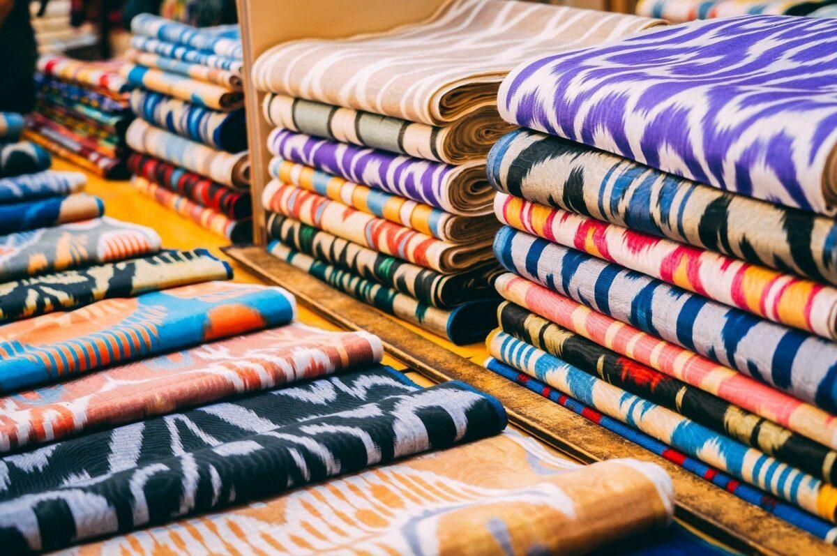 Uzbekistan Fergana textiles