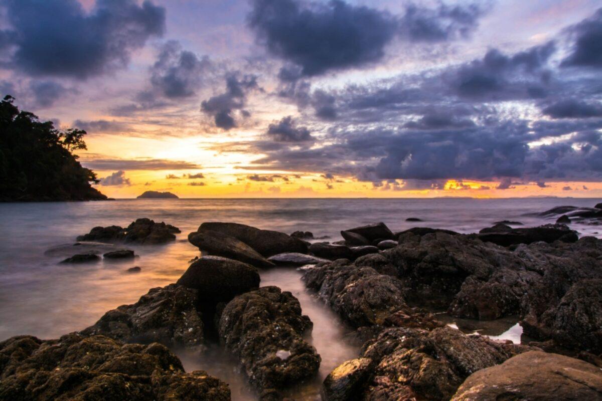 Vietnam Con Dao Island sunset