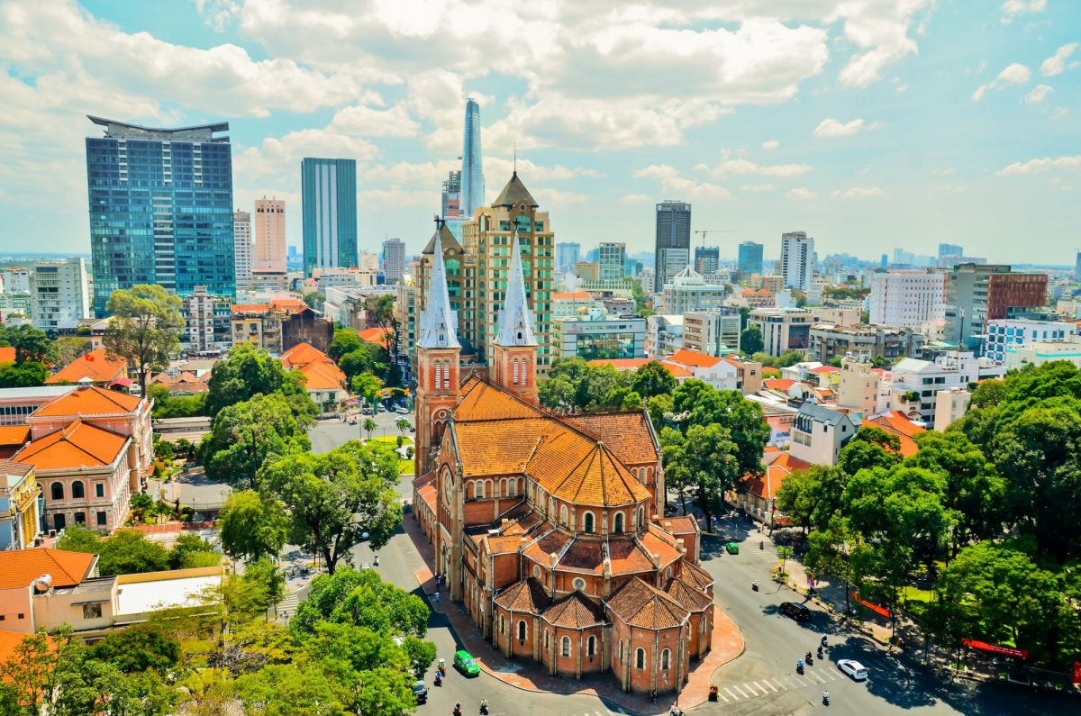 Vietnam HCMC notre dame cathedral