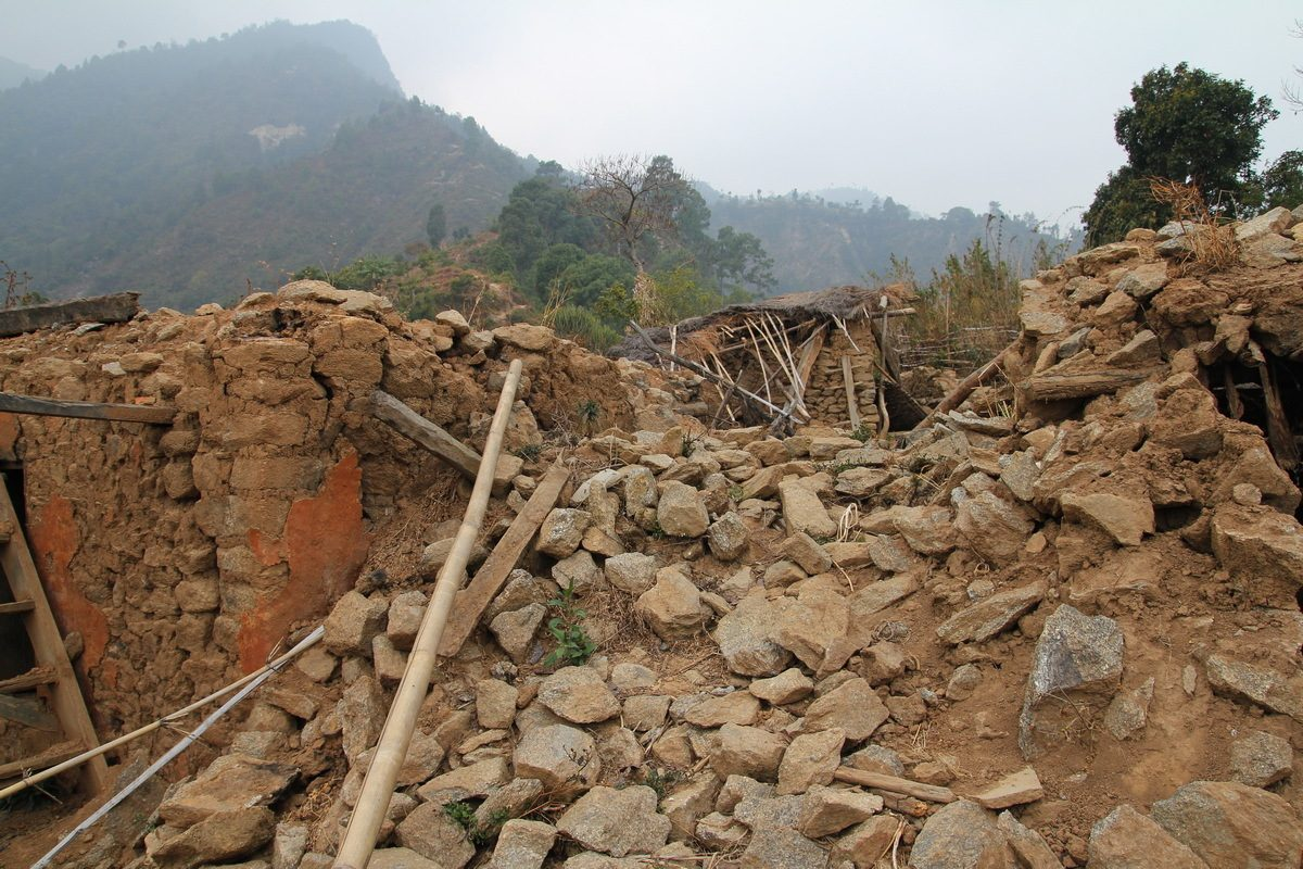 Village In Sindhupalchok After Earthquake 2015 2