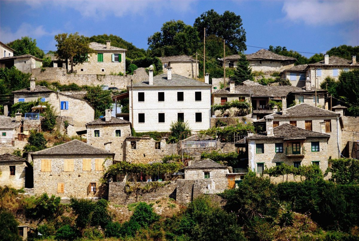 Vitsa village Zagoria north western Greece