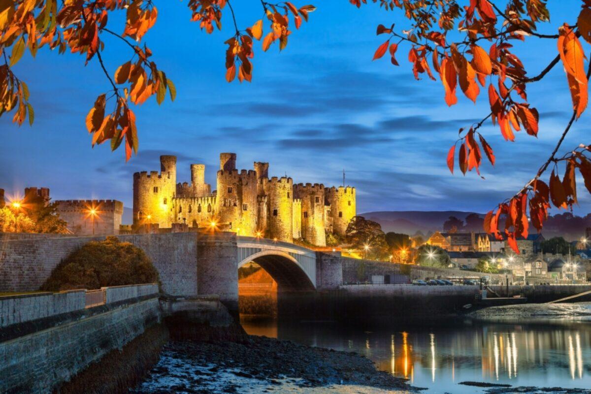 Wales Conwy Castle