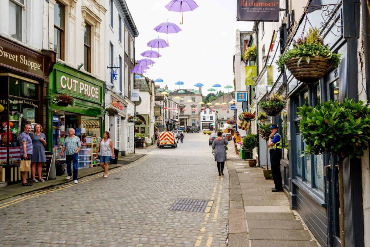 Budget Ulverston Lake District England UK
