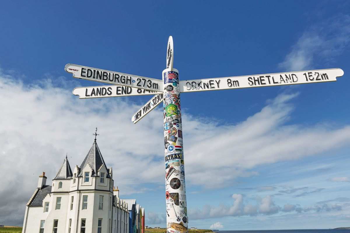 Family John O Groats Scotland