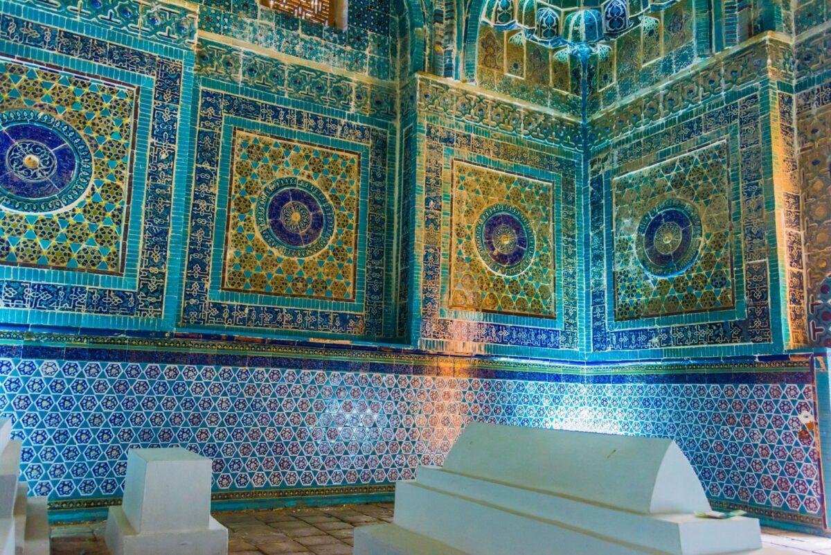 Inside Shah i Zinda