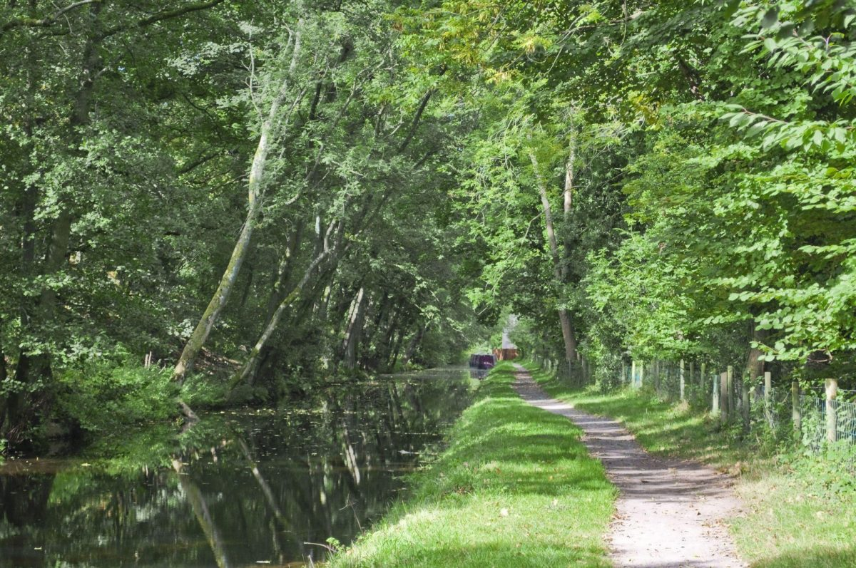 Monmouthshire and brecon canal brecon beacons national park powys wales uk