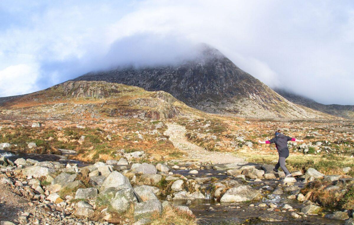 Short walks Mourne Mourne Mountains in Northern Ireland UK