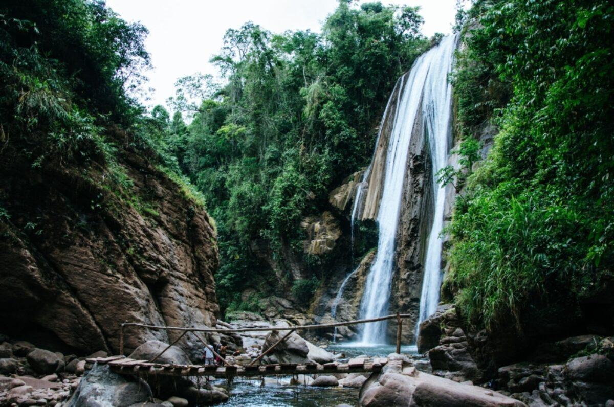 Velo de la novia waterfalls Chanchamayo Peru