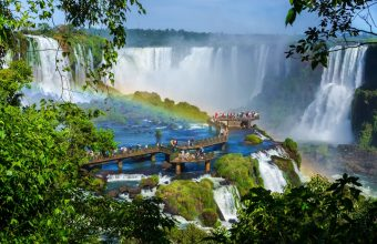 Iguazu Falls and Bahia beaches