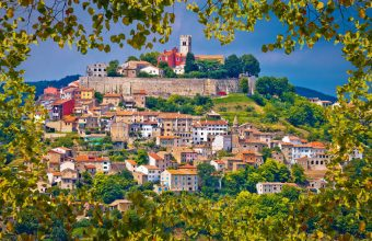 Istria's coastlines and hilltop villages