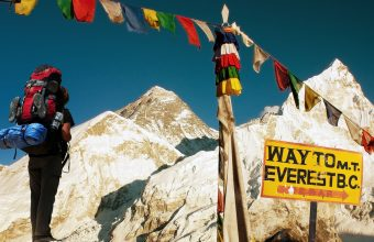 The ltumate Everest trek