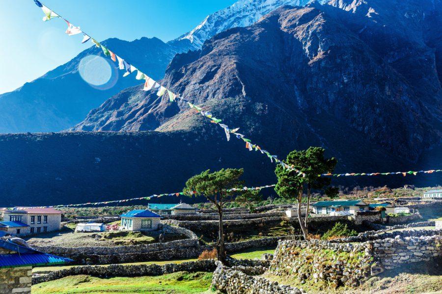 Experience village life in Phakding