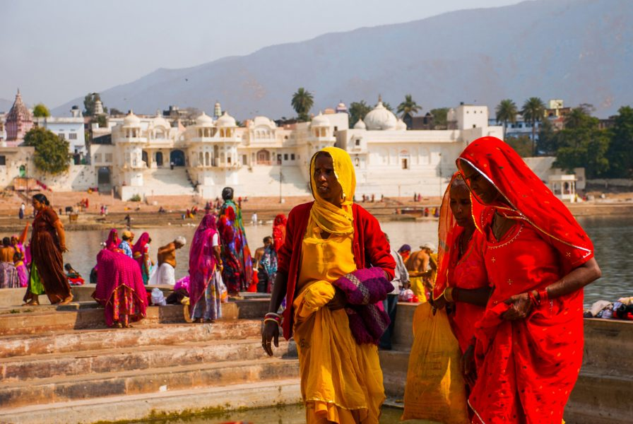 Take a dip in Pushkar's holy waters
