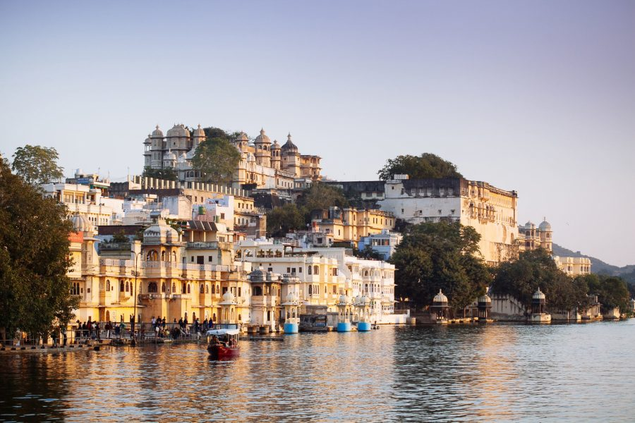 Float on Udaipur's romantic lakes