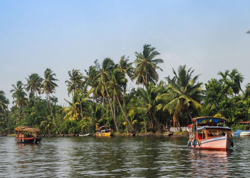 India kerala boats