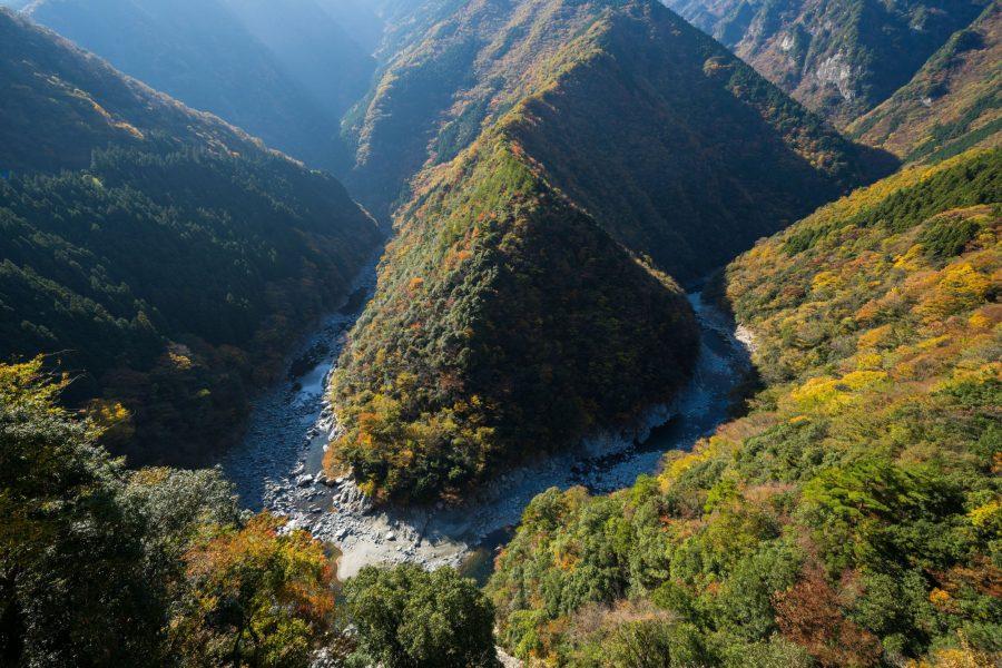 Japan Iya valley