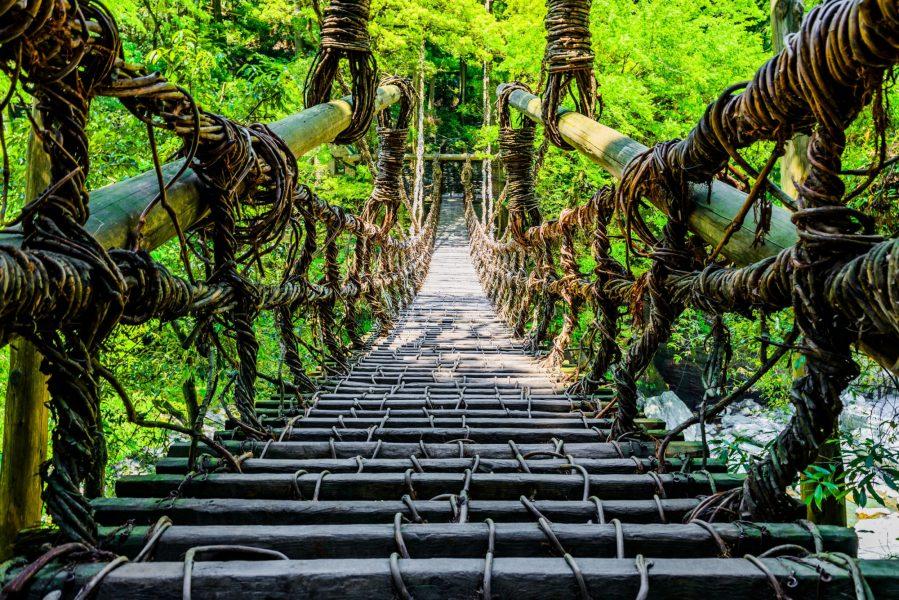 Japan Iya valley Kazurabashi bridge2