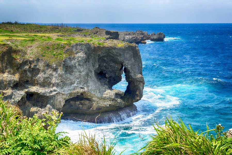 Japan Okinawa Manzamo Cape
