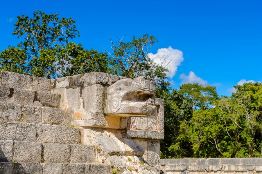 Mexico Chichen Itza Plumed Serpent Venus Platform2