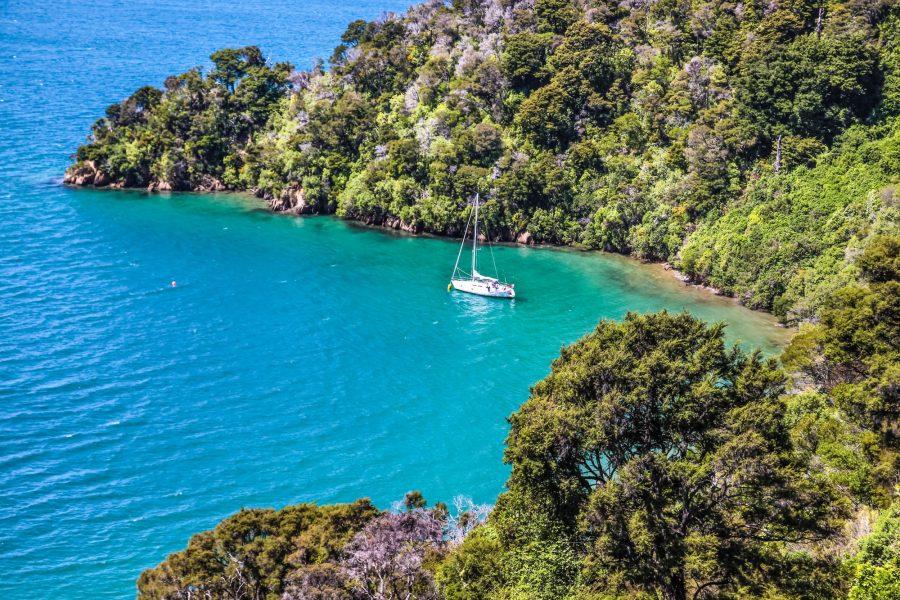 NZ Marlboroughsound boat