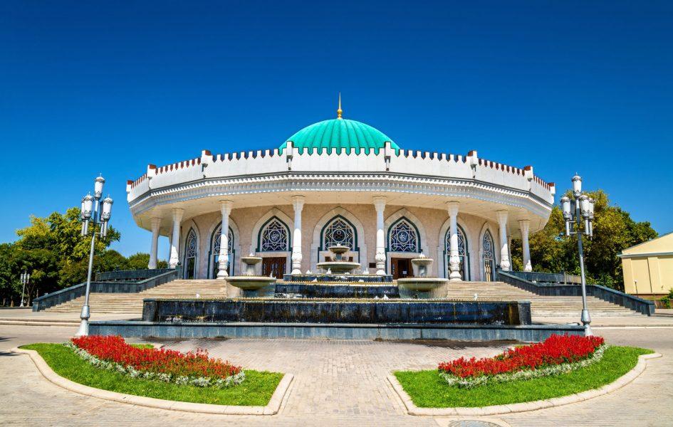 Uzbekistan Tashkent Amir Timur museum
