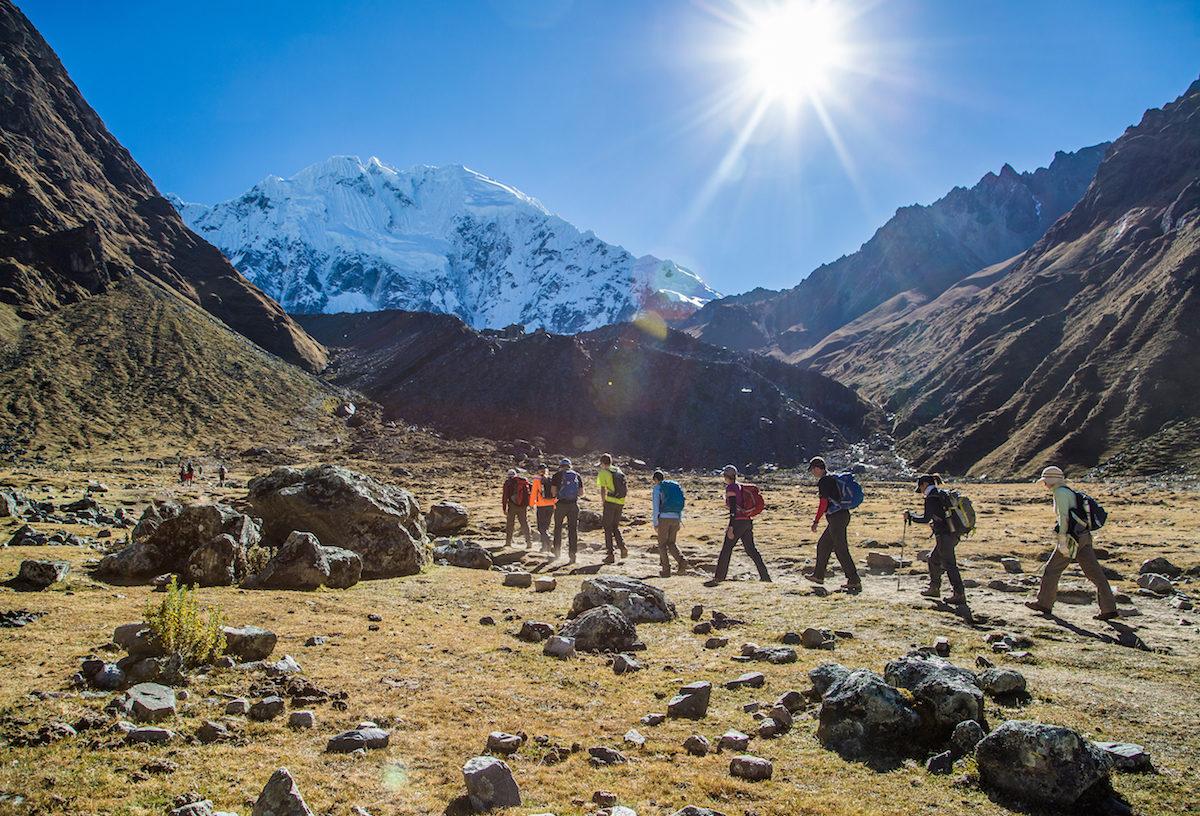 The Salkantay Lodge Trek