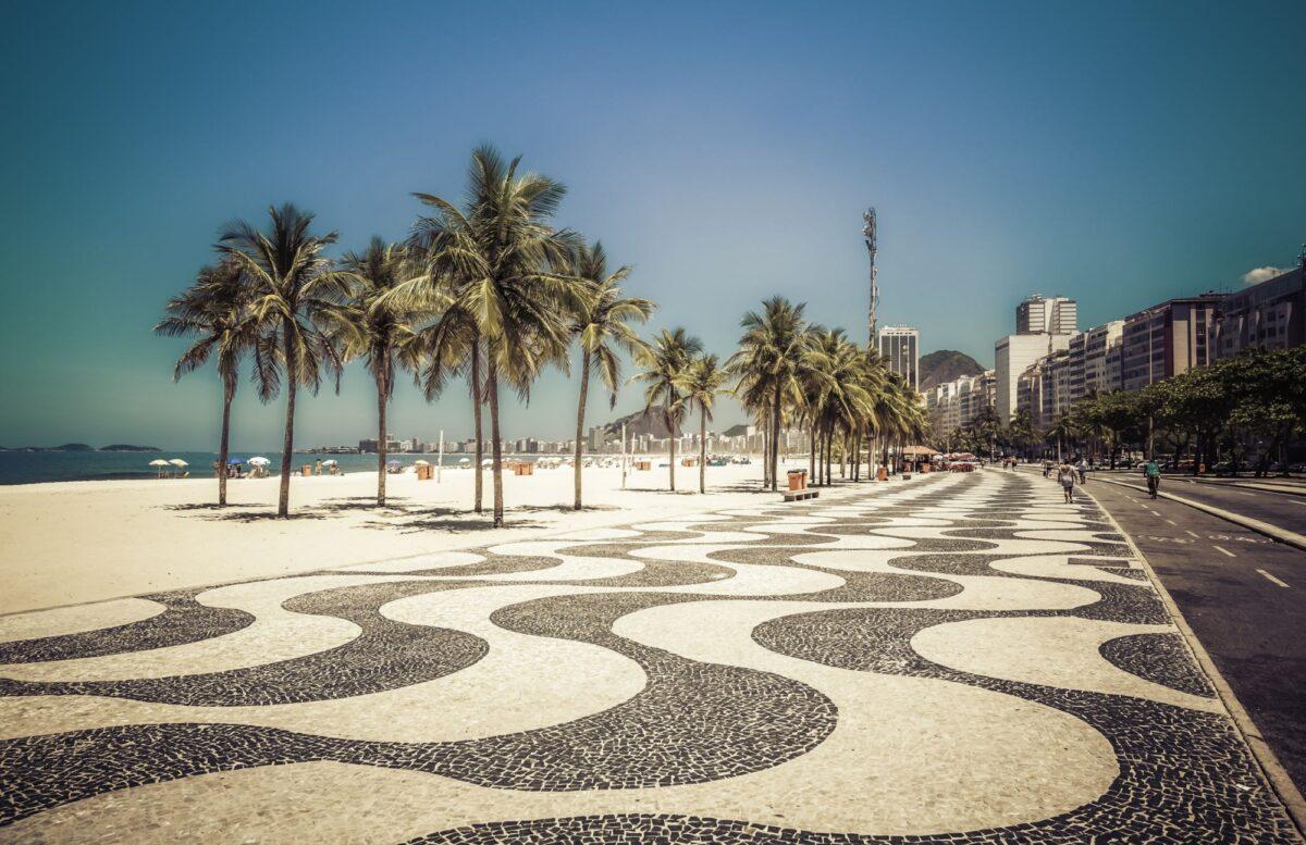 Brazil Rio Copacabana