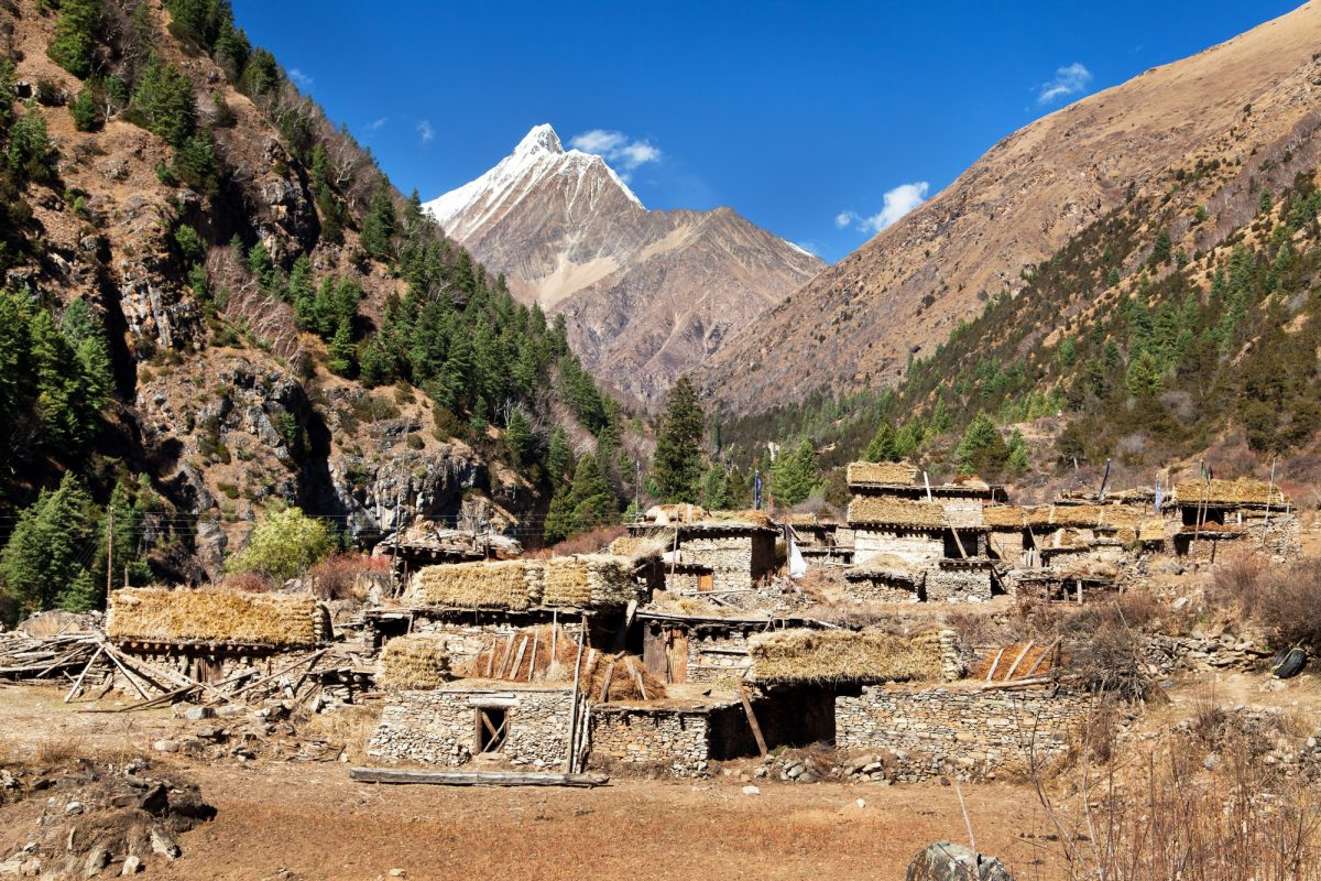 Dolpo Pungmo village