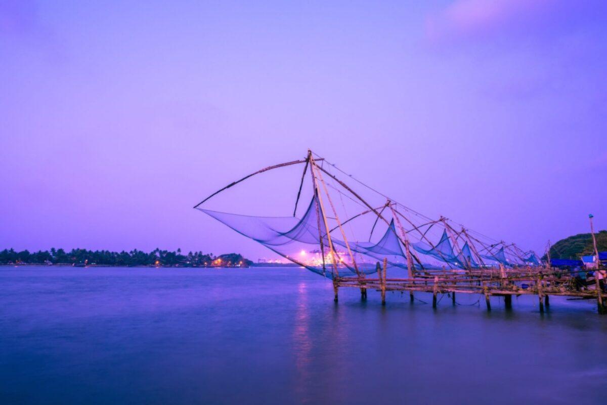 India Kochi Chinese fishnets