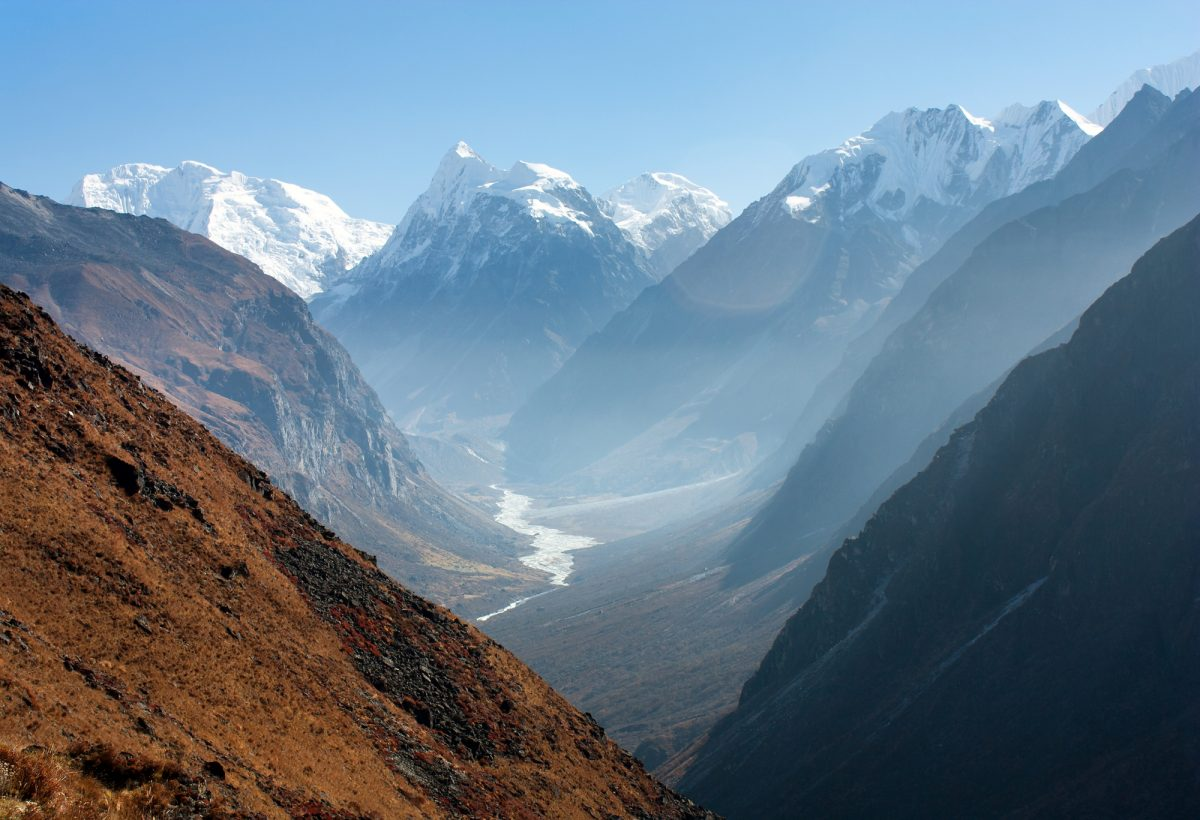 Langtang Valley view