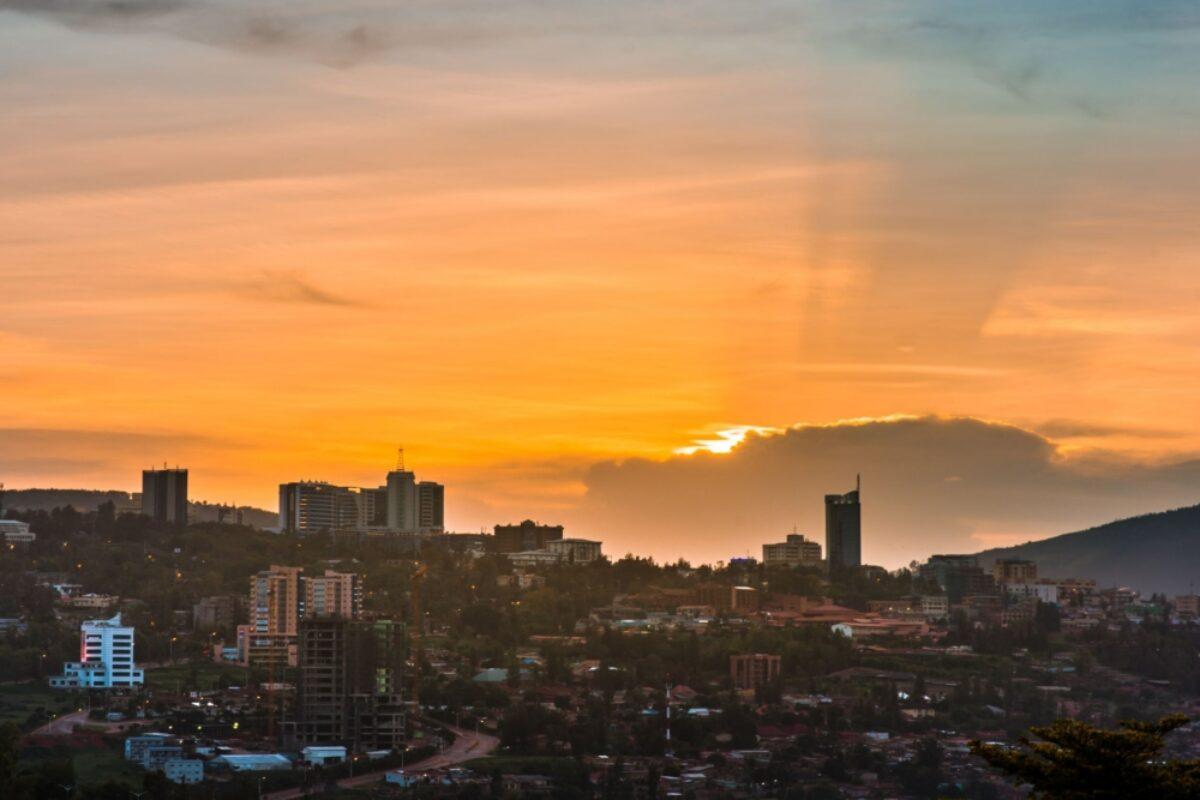 Rwanda Kigali sunset