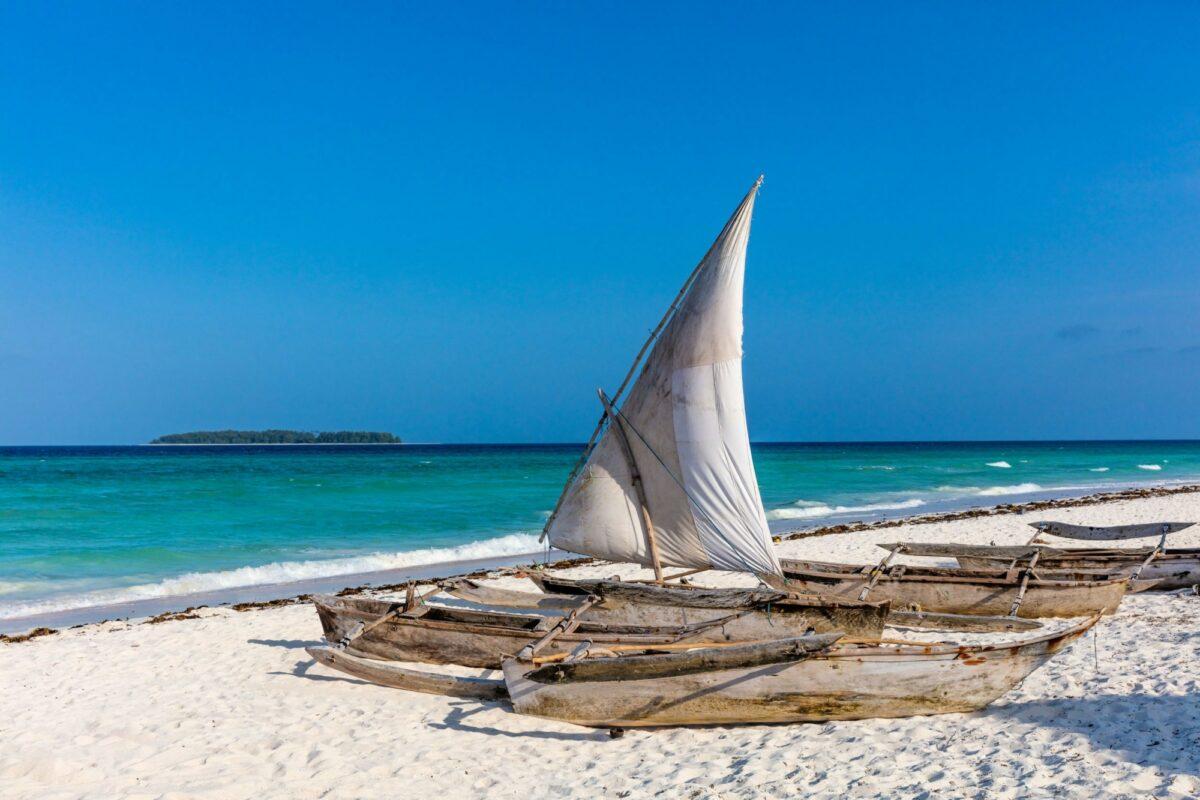 Tanzania Zanzibar Boats
