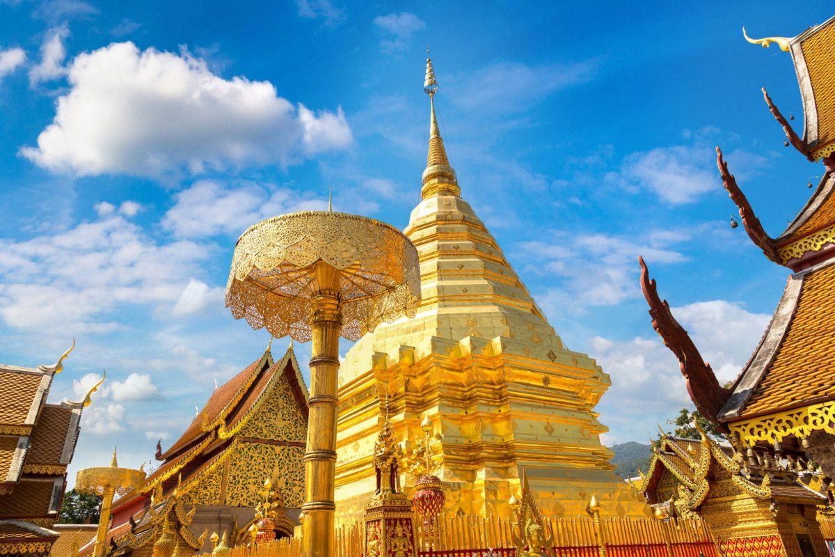 Thailand templte Doi Suthep Chiang Mai