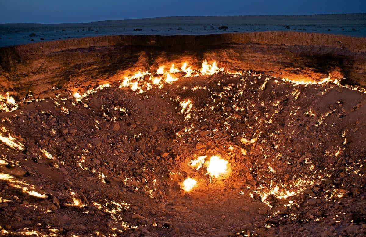 Turkmenistan_fire